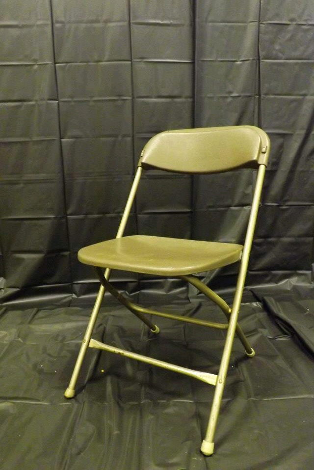 Where to find CHAIR, FOLDING BROWN in Gresham