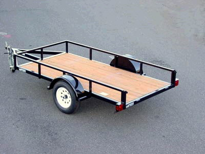 Where to find TRAILER, 1AX 5X12 W RAMPS in Gresham